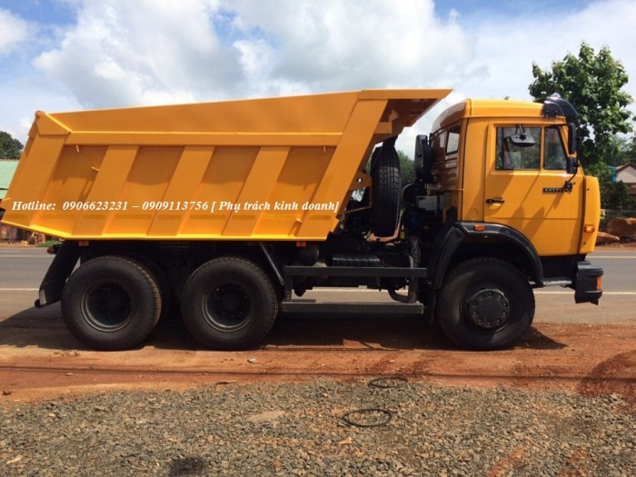 Xe tải tự đổ 65115 (6x4) thùng vát 10m3