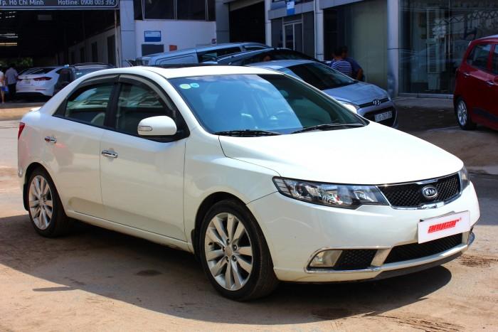 Bán Kia Forte SX 1.6AT màu trắng 2010 biển sài gòn số tự động 1