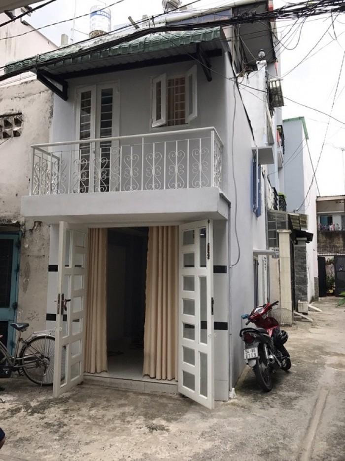 Bán Nhà Hẻm Đường Đỗ Thúc Tịnh, phường 12, Quận Gò Vấp