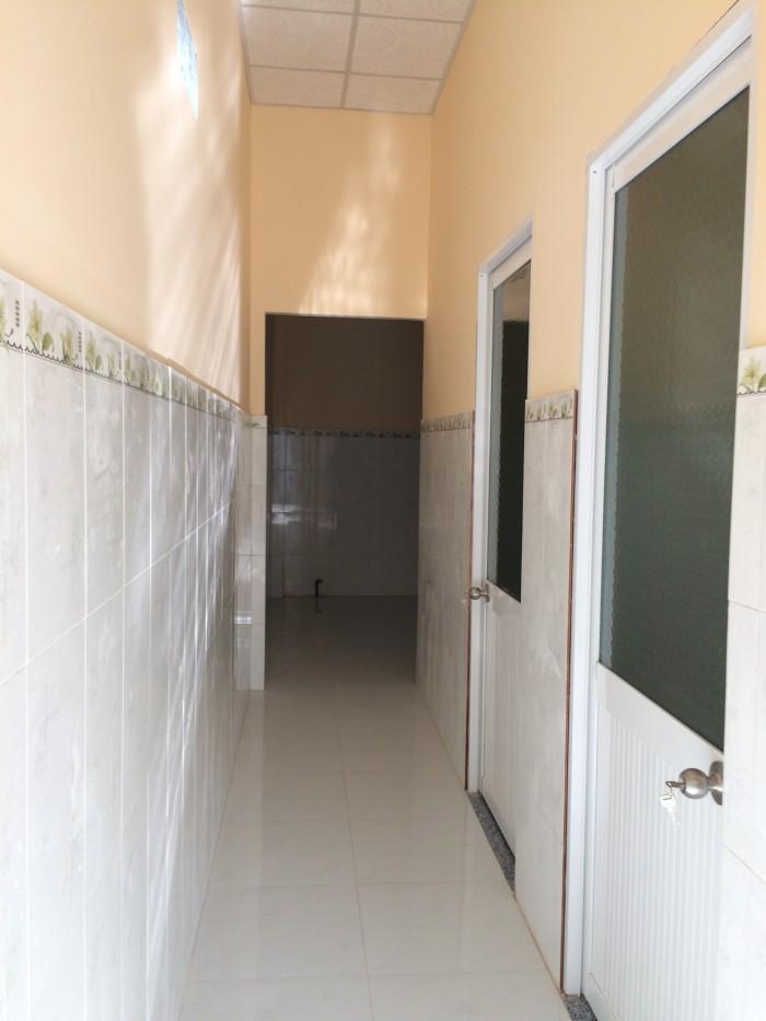 Nhà mới xây 340 triệu/ 63m2 thổ cư tại ấp 1 xã Trung An tp Mỹ Tho Tiền Giang
