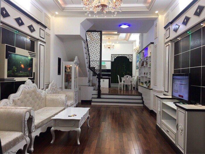 Cần bán villa phố cao cấp đường Phạm Văn Chiêu, f.9, q.Gò vấp