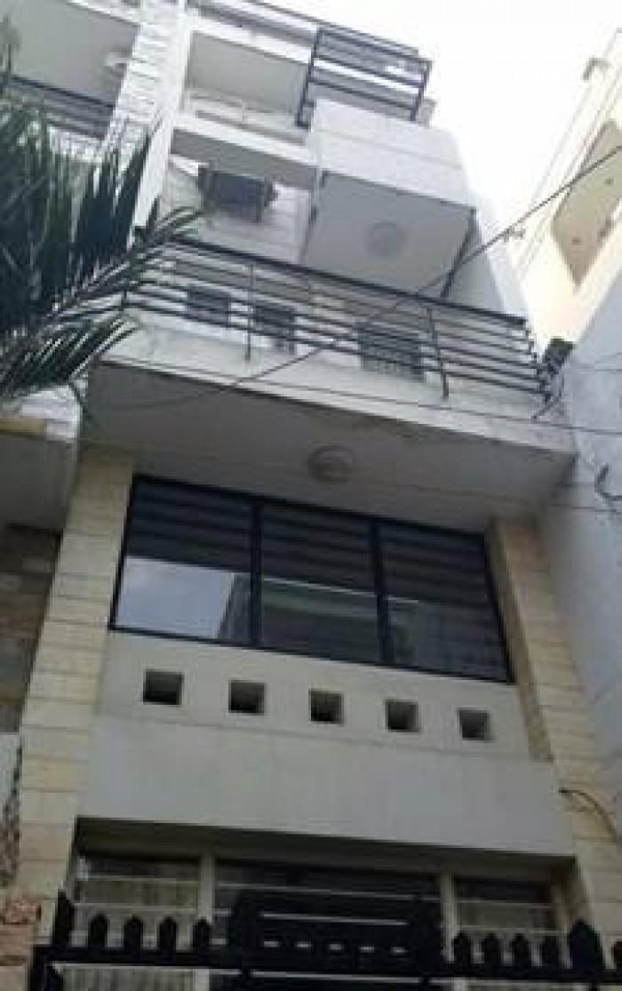 Nhà bán gần Bệnh viện Hòa Hảo, 40m, 4 tầng, mới rẻ, giá 5 tỷ (  thương lượng )