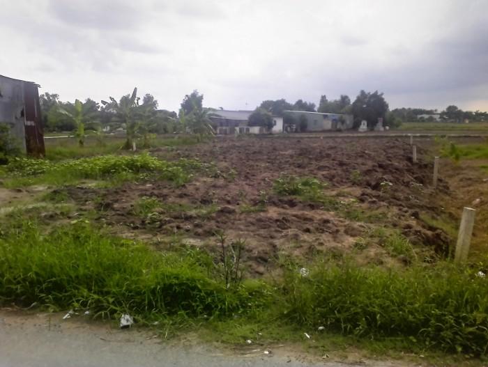 Đất bình chánh,chú 2 bán gấp 1300 m2, giá 1,9tr/m2, mặt tiền đường Bùi văn sự