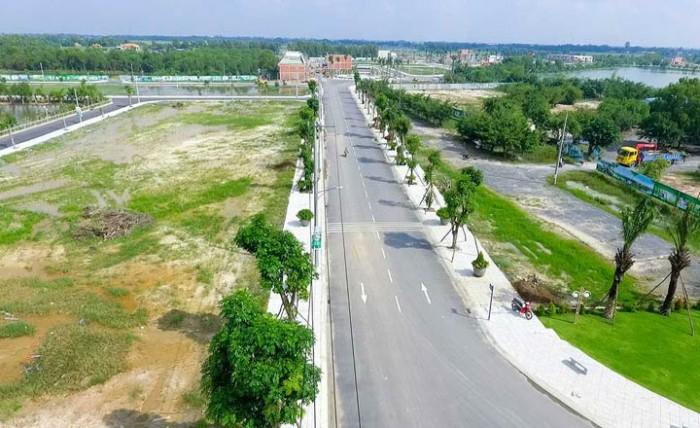 Đất 1.700 m2 mặt tiền Võ Văn Kiệt Bình Thủy Cần Thơ