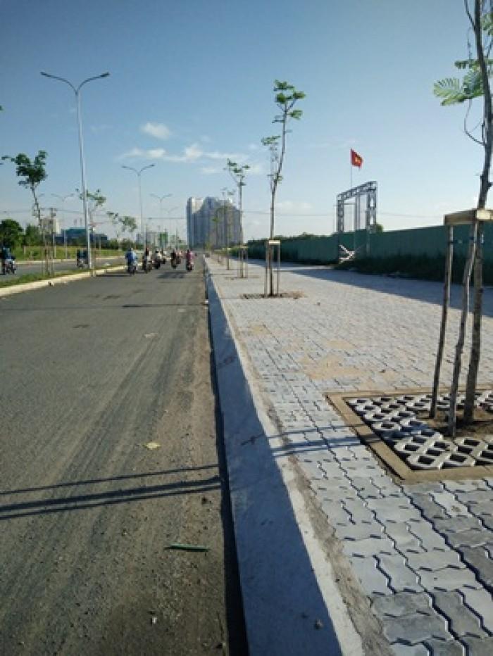 Đất nền gần sân bay, đối diện khu đô thị Novoland, dân cư hiên hữu sầm uất, sổ riêng từng nền..