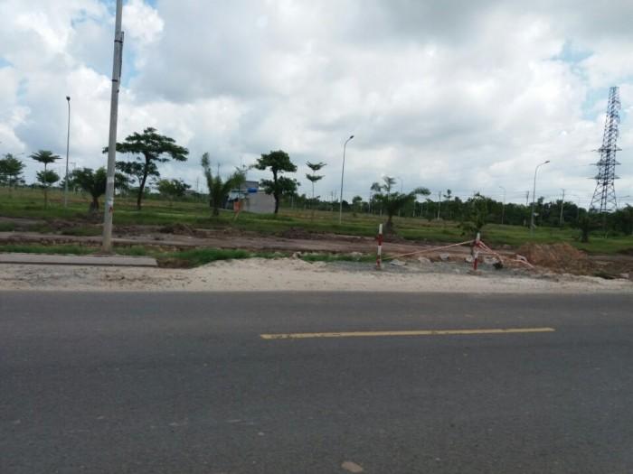 Đất song hành đg QL22, SHR, thổ cư, 590tr/n, DT 6x20m, hạ tầng hoàn thiện