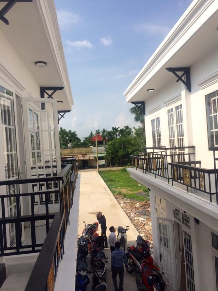 Nhà phố đẹp  gần  chợ tân phú trung, huyện củ chi với 690 triệu