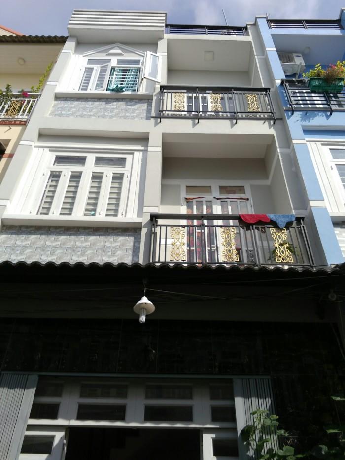 Nhà ĐSH hẻm 1419 Chùa Phước Tường 3,2x14m Lê Văn Lương, Phước Kiển