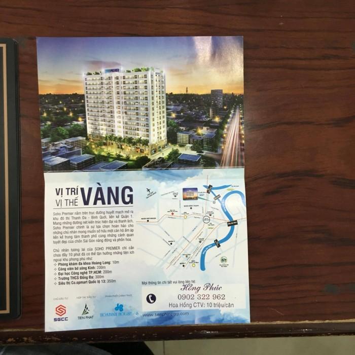 In tờ rơi giới thiệu dự án chung cư tại Công ty TNHH In Kỹ Thuật Số - Digital Printing