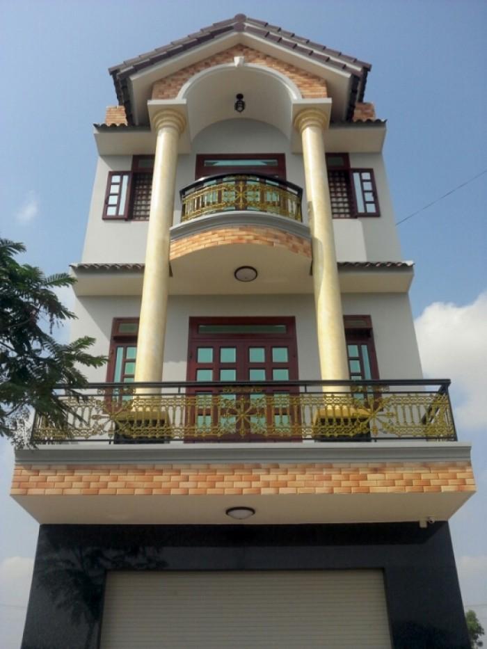 Bán nhà Bình Thành giao Nguyễn Thị Tú, 4x14m, 2 lầu+sân thượng mới đẹp, 2,2 tỷ.