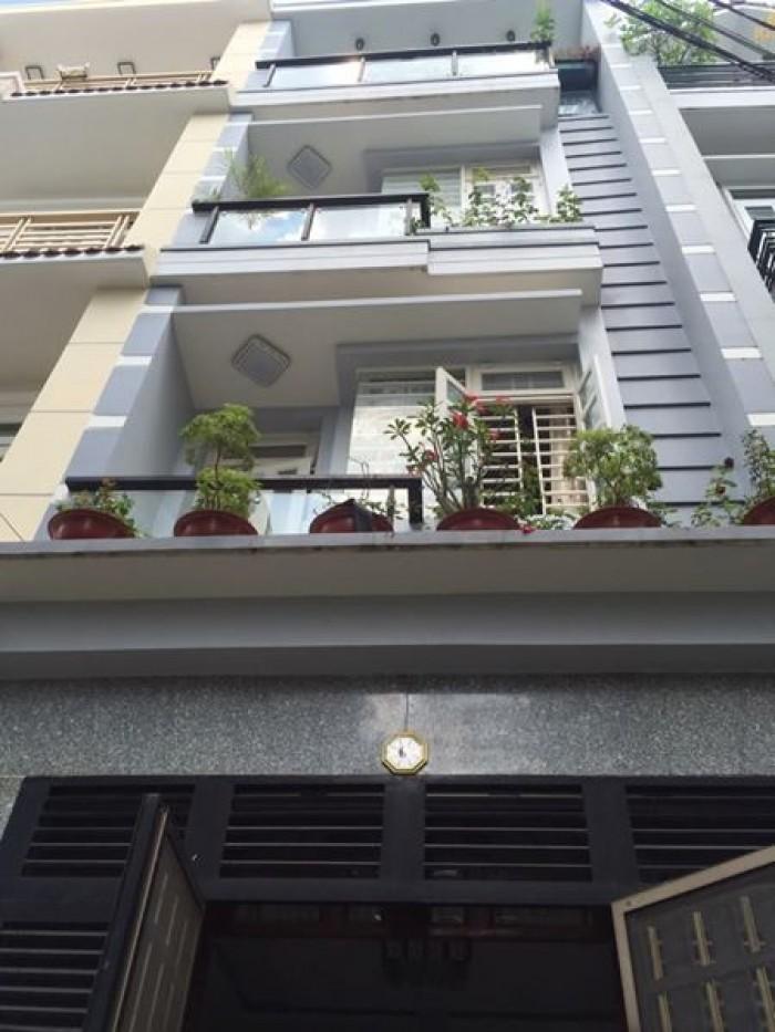 4,65 tỷ mua nhà Nguyễn Cư Trinh 30m2, 4 tầng 3PN.