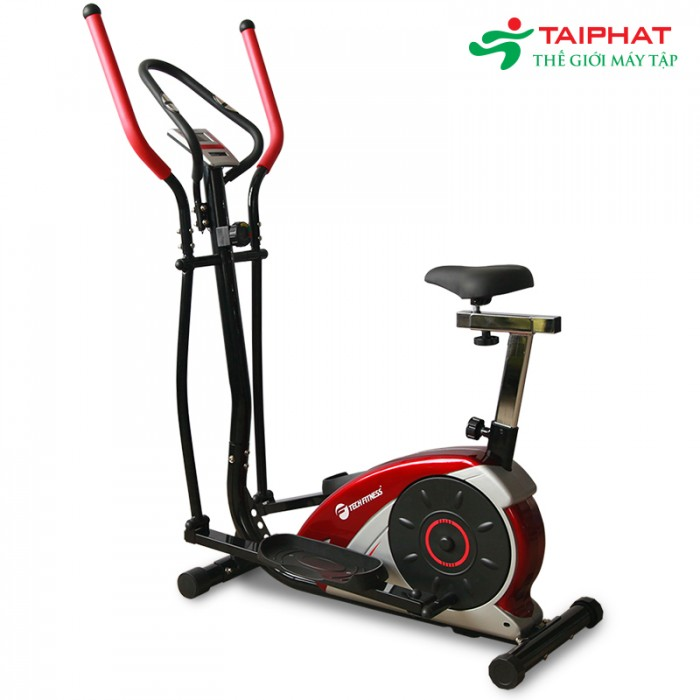 Xe đạp tập thể dục tech fitness tf-616 tại quy nhơn-bình định0