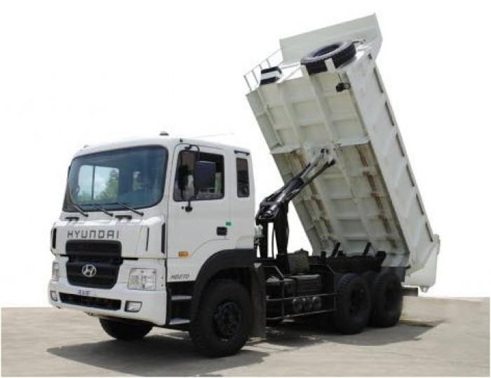 Xe ben tự đổ 15 tấn 3 chân hyundai hd270 nhập khẩu
