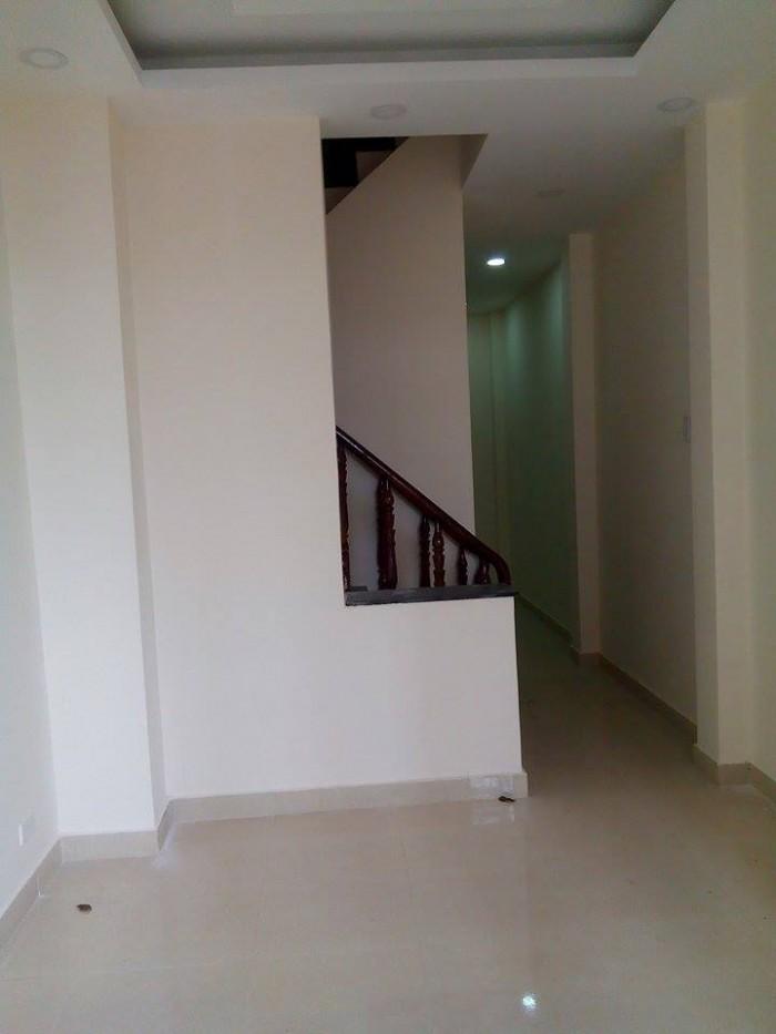 Dãy nhà phố đường Thạnh Xuân 21 quận 12, 54m2