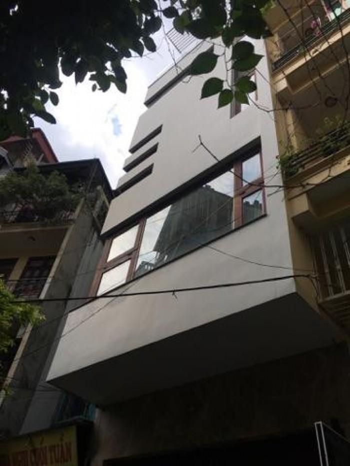 Nhà Phân lô 63m2 Phố víp Tôn Đức Thắng 5 tầng MT 6m