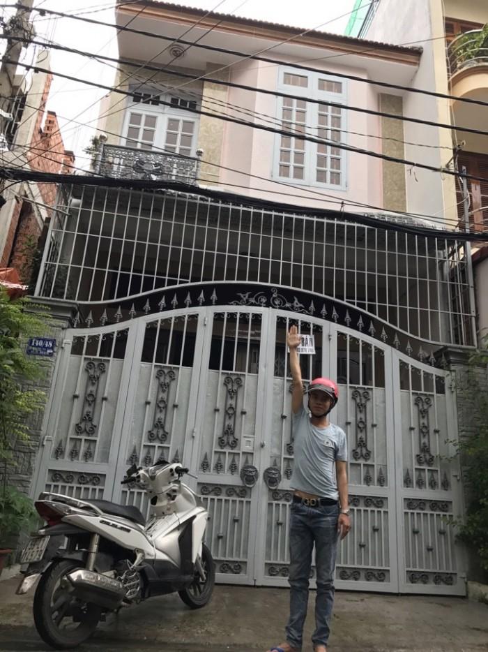 Bán nhà HXH rộng Đường Dương Quảng Hàm, phường 6, quận Gò Vấp, 2 lầu, Hướng Tây Bắc