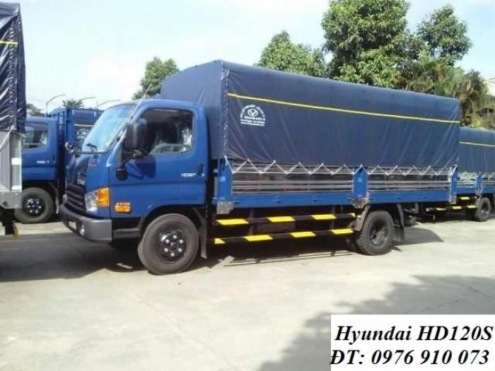 Gía Xe Tải Hyundai HD120S 8,5 Tấn - Giá Gốc Nhà Máy - Giao Xe Ngay