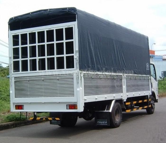 Xe tải isuzu 5t5 thùng siêu dài (nqr75m)