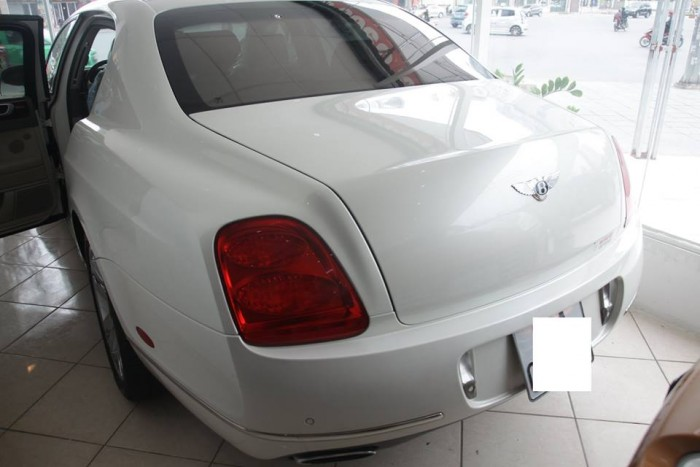 Bentley Continental Flying, động cơ W12 dung tích 6.0, xe sản xuất 2009