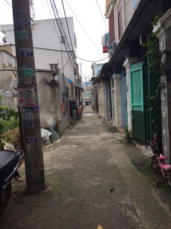 Bán nhà gần ngã tư TTH21 và Nguyễn Thị Đặng , phường Tân Thới Hiệp, quận 12, Hướng Tây Nam