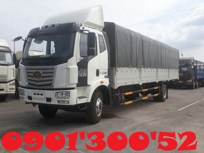 Xe tải Faw 9.6 tấn - 9t6 thùng dài 7.6 mét uy tín Sài Gòn