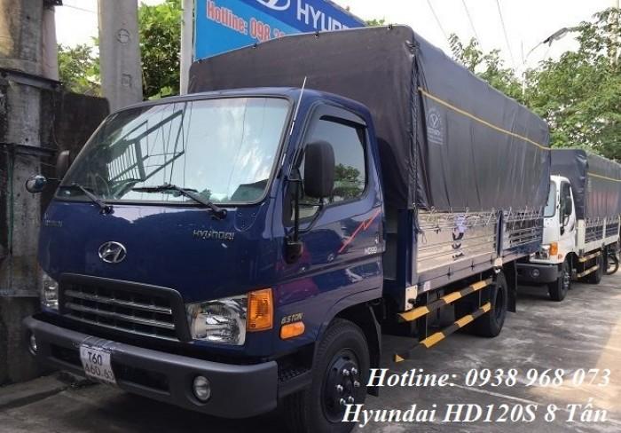 Hyundai HD120S sản xuất năm 2017 Số tay (số sàn) Xe tải động cơ Dầu diesel