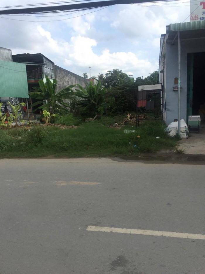 Thanh lý gấp 900m2 thổ cư mặt tiền Đoàn Nguyên Tuấn, Hưng Long, Bình Chánh.