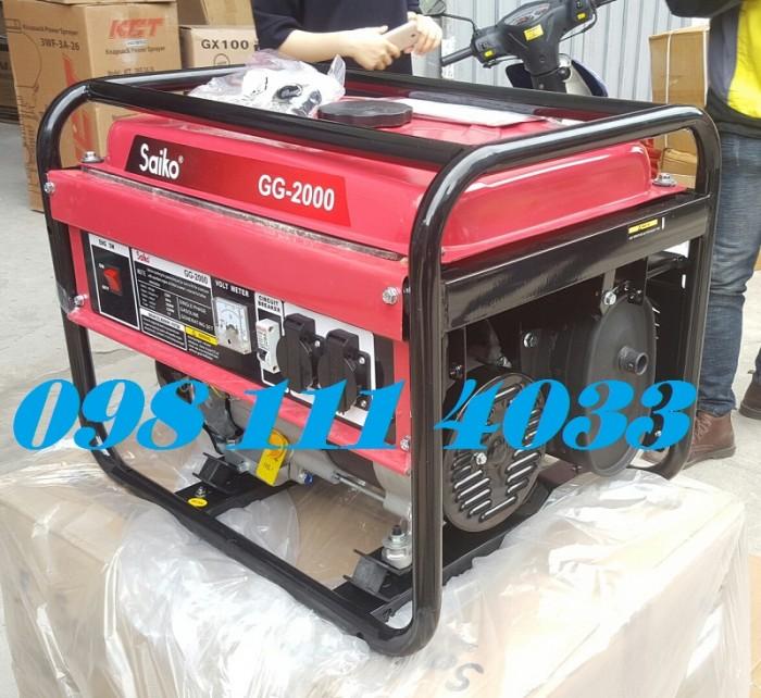 Giảm giá ưu đãi máy phát điện chạy xăng dùng gia đình tại HOàng Long5