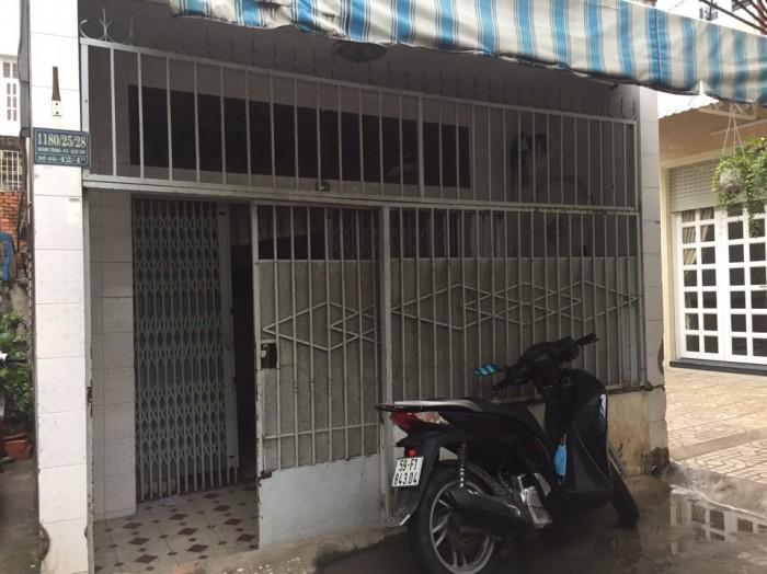 Bán Nhà 2 Mặt Tiền Hẻm 1180 Quang Trung, Phường 8, quận Gò Vấp, 4,2 x 15m, Cấp 4, giá 2,3 tỷ