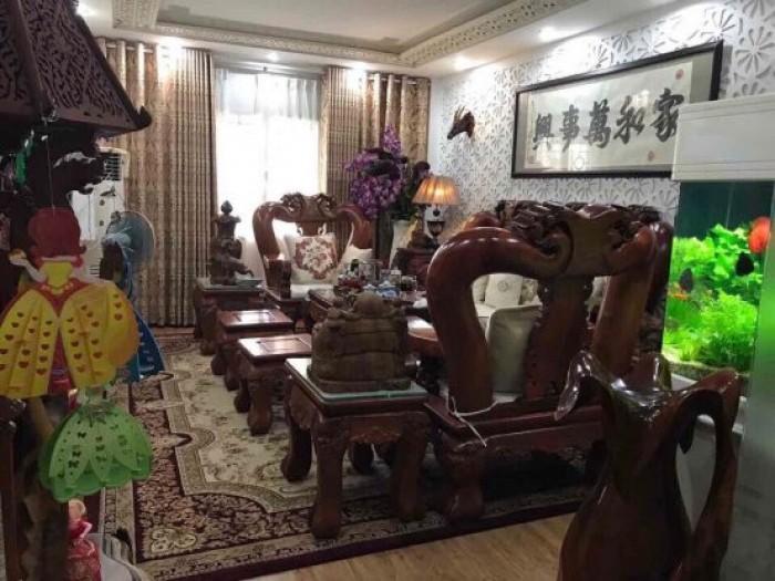 Bán nhà 3 lầu mặt tiền đường nhựa 12m, Nam Long, Phú Thuận, Q7, DT 4x20m. Giá 6,1 tỷ