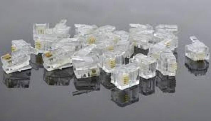 Phân phối hạt mạng cat5, Cat6, Cat3, RJ45, RJ11, đầu bấm hạt mạng Cat6A không dùng tool7