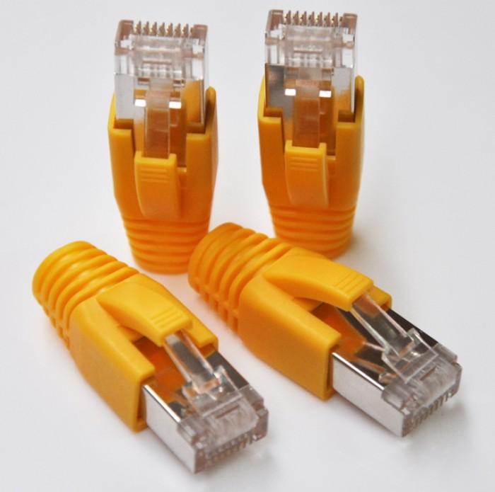 Phân phối hạt mạng cat5, Cat6, Cat3, RJ45, RJ11, đầu bấm hạt mạng Cat6A không dùng tool8