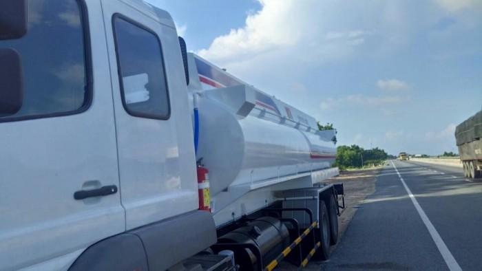 Xe Fuso bồn chở xăng thể tích 18000lit/18 khối