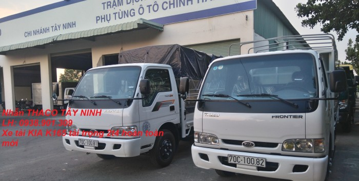Xe tải Kia Tây Ninh, xe tải cũ mới, Kia k2700 1.25tấn, Kia K3000s 1.4 tấn,giá rẻ 1