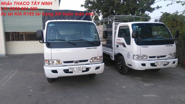 Xe tải Kia Tây Ninh, xe tải cũ mới, Kia k2700 1.25tấn, Kia K3000s 1.4 tấn,giá rẻ 2