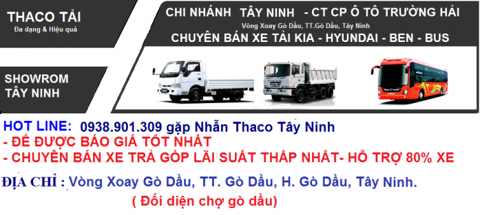 Xe tải Kia Tây Ninh, xe tải cũ mới, Kia k2700 1.25tấn, Kia K3000s 1.4 tấn,giá rẻ 5