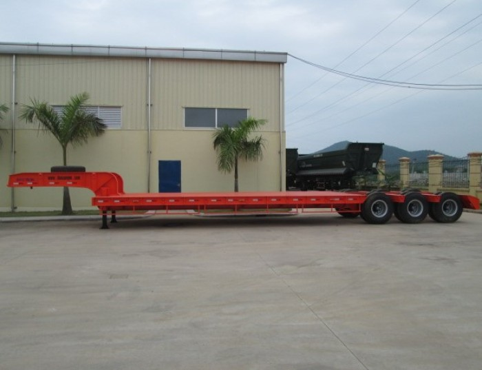 Nhà Phân Phối Rơ Mooc Doosung Miền Nam – Bán Rơ mooc Phooc Lùn 39.5 tấn, Giá tốt