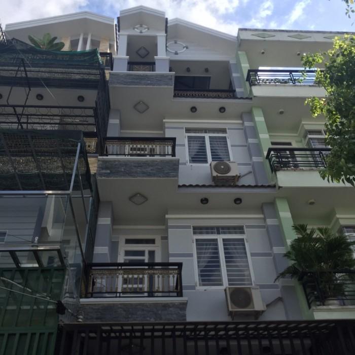 Bán rẻ căn nhà MT hẻm 10 Nam Long Phú Thuận, DT 4x20m, 3 lầu, sân thượng.Giá 5,7 tỷ