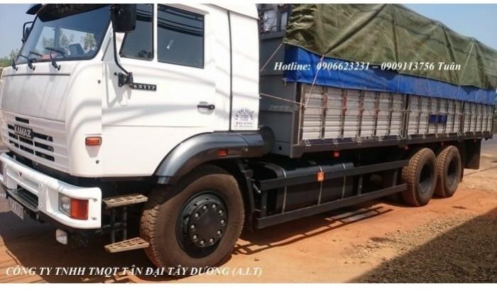 Xe tải thùng 65117 (6x4) | Kamaz thùng 7m8 | Xe tải thùng Kamaz 65117 mới 2016 Nhập khẩu Nga 0