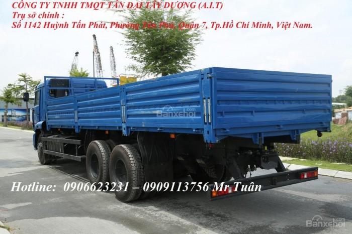 Xe tải thùng 65117 (6x4)   Kamaz thùng 7m8   Xe tải thùng Kamaz 65117 mới 2016 Nhập khẩu Nga 7