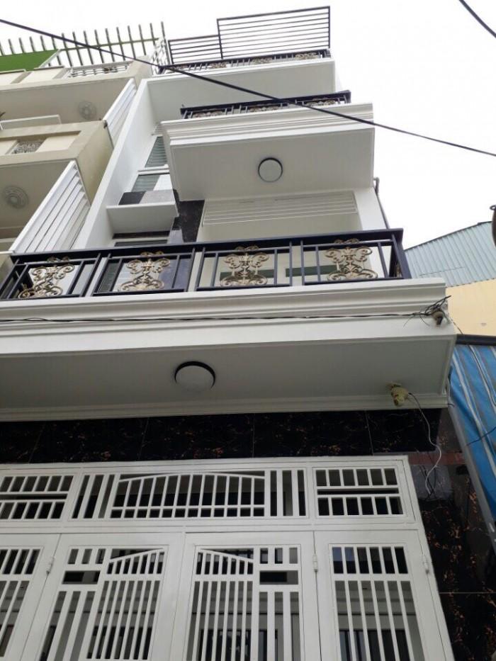 Bán nhà đẹp 3 lầu,hẻm 6m Huỳnh Tấn Phát, Phú Thuận, Q7, DT3,5x13m.Giá 3,5 tỷ