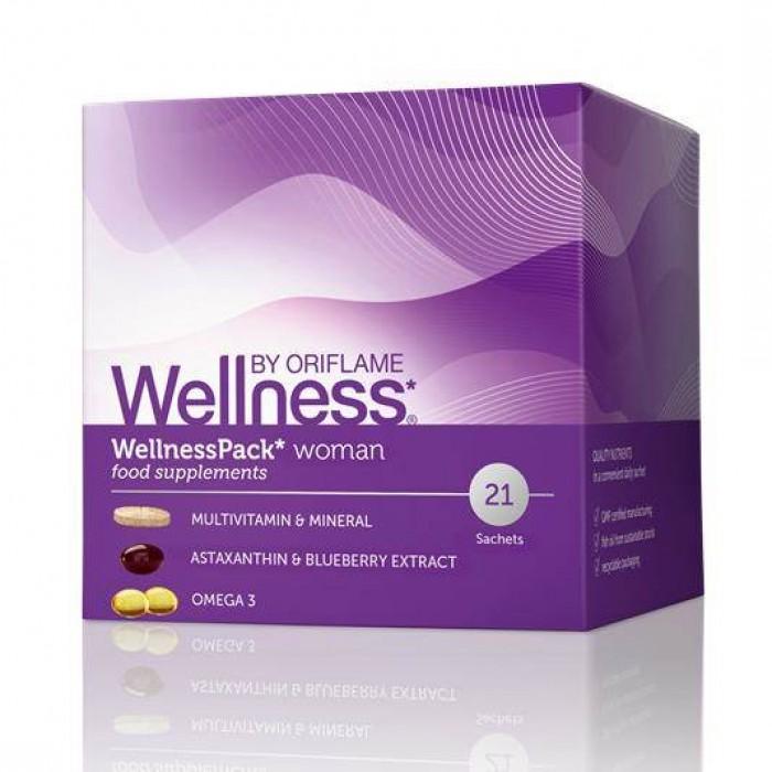 Thực phẩm bổ sung dinh dưỡng, chống lão hóa cho phụ nữ WellnessPack Oriflame 227910