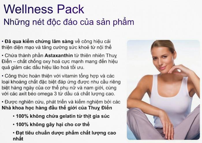 Thực phẩm bổ sung dinh dưỡng, chống lão hóa cho phụ nữ WellnessPack Oriflame 227912