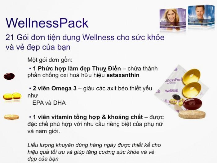 29697 WellnessPack Man Thực phẩm bổ sung dinh dưỡng, chống lão hóa cho nam giới  Oriflame0