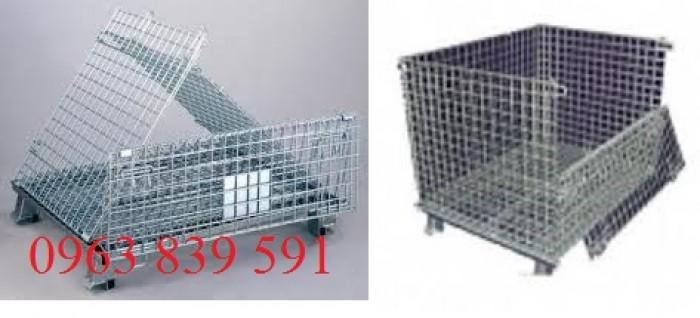 Lồng lưới thép -xe đẩy hàng xây dựng3