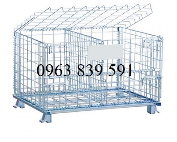 Lồng lưới thép -xe đẩy hàng xây dựng4
