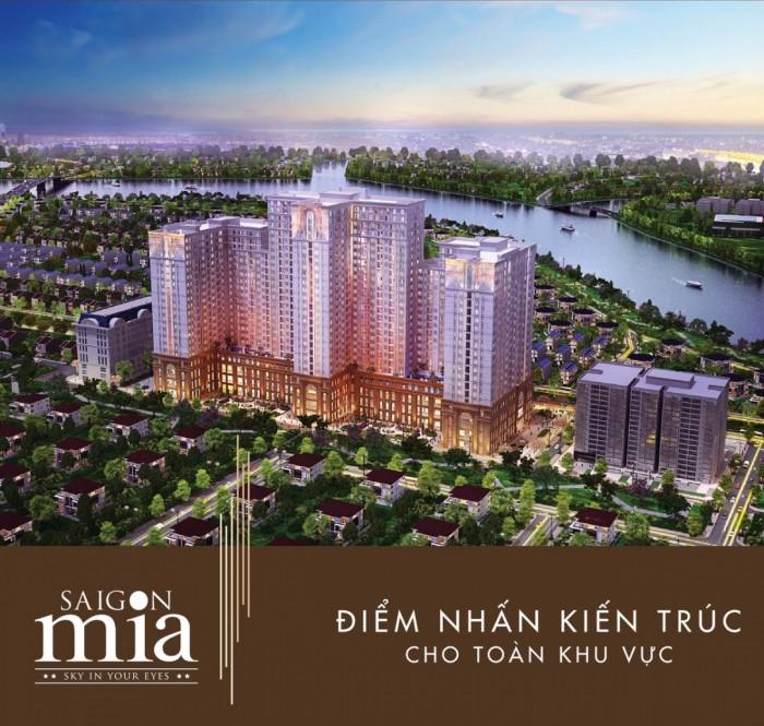 Hãy ghé căn hộ Sài Gòn Mia Khu trung sơn nếu bạn quyết định mua căn hộ LH 09 864 3457