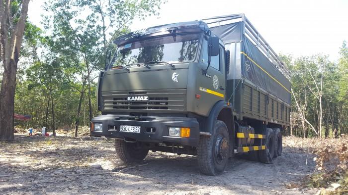 Bán tải thùng 3 chân Kamaz 15 tấn/ Kamaz thùng 3 giò