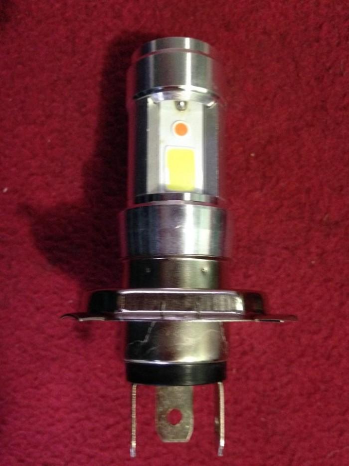 Đèn Pha Xe Máy 3 LED Hãng RTD Chân H4 1