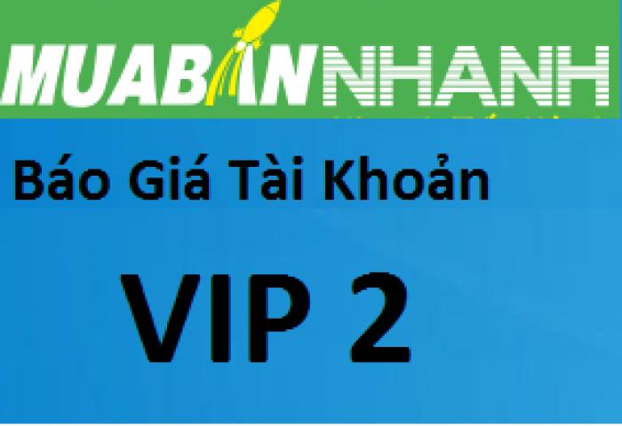 VIP 2 Ưu đãi 33% phí